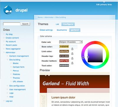 Drupal 5.0 beta 1 - seznamte se